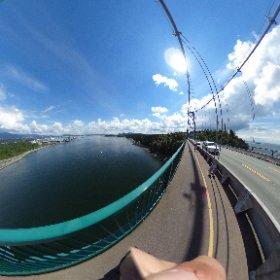 バンクーバー大橋?VR  #theta360