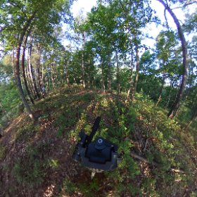Did a little camping near Jay, Oklahoma this weekend.  Here's a 360 photo I took Sunday morning. #theta360