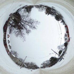 360 Winter North Bay in front of my house