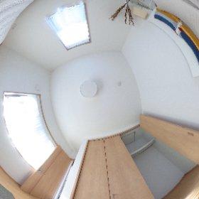糸島の海が見える家:洋室2F