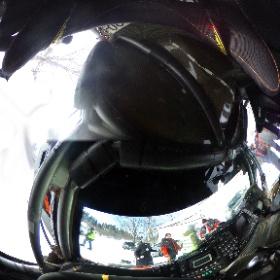 Фотография кабины прототипа Барс-3 G-Force Proto NL братьев Новиковых, сделанная на финише бахи «Россия-Северный лес». EX-ROADmedia.ru.