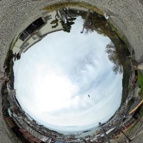 広島県福山市鞆の浦歴史民俗資料館からの眺望 #theta360