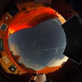 15 décembre 2018  Pavillon d'astronomie Velan, Domaine St-Bernard, Tremblant. Comète 46P / Wirtanen