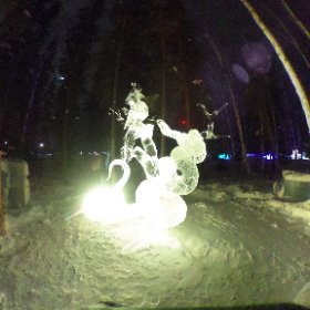 World Ice Art Championship, Fairbanks #theta360
