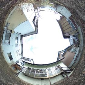 中野市小舘中古住宅1,798万円 南側庭 360°内観写真! #中野市 #中古住宅 #不動産 #360° #theta360