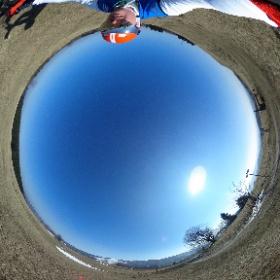 Wenn der Frühling ruft und die Sonne lacht, dann heißt es raus aufs Bike und ab in die #Rhön  #theta360