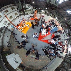 Airk, Drones de Carreras y muchos más estuvieron en The Drone Show en #barcelona @showdrone  #theta360