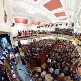 Hawick Common Riding The Colour Bussin #theta360 #theta360uk
