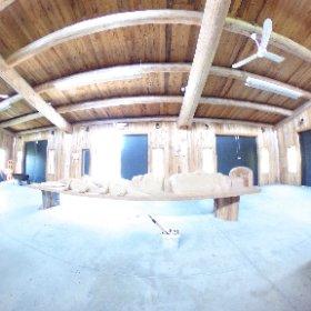 Carving shed Xa:ytem #theta360