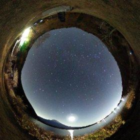 THETA Sで星空を撮影1
