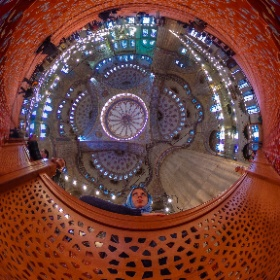 Blue Mosque Istanbul Inside Turkey #theta360