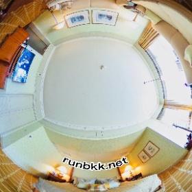 マンダリンオリエンタルバンコクの客室 #theta360