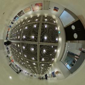 2021第56回亜細亜現代美術展第2&3室ドア側