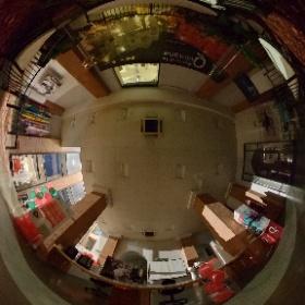 Foyer ex-Teatro Piermarini, Quintana Point - Foligno, Umbria #q4d #quintana #theta360