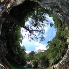 Canyoning Corsica #theta360