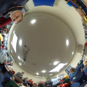 Mars Rover Day at Norman Lockyer Observatory - Parachute building exercise. #theta360