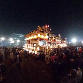 2018秩父夜祭御旅所❷(埼玉県秩父市) #theta360