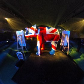Sheffield Celebration Of Sport: Team GB elephant in the spotlight at the sporting celebration dinner and Grassroots Awards at English Institute Of Sport, Wed, Oct 5, 2016. #theta360 #theta360uk