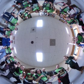 Illinois State Indoor JOAD Team of the Year. CBH Team photo in the round. #archery #theta360