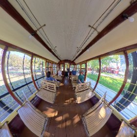 Ferry Tram Museum on Windsor Park South Perth along the path to Perth Zoo https://tourismwinnerwa.com/FerryTramMuseum BEST HASHTAGS #FrerryTramMuseum #SouthPerth #VisitPerthWA #PerthAdventure #WaTourism #WaAchiever #theta360 #theta360