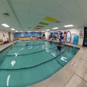 Mary has two #rehabilitation pools for patients. #theta360