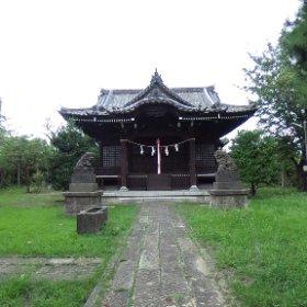 下末吉愛宕神社。 #theta360