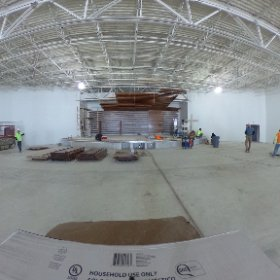 It's all coming together at Citylight Church in West Omaha. This place is going to be awesome and inspiring!  #theta360