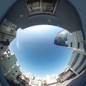 【LUMEED飯田橋】 ②東向き眺 360°画像 東京都文京区水道1-4-2 http://www.axel-home.com/009688.html   #theta360