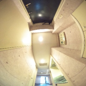コスモシティ市ヶ谷 216号室 玄関 #theta360