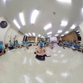 第22回野尻小学生キャンプのスタッフでエンジンシータΘ #theta360