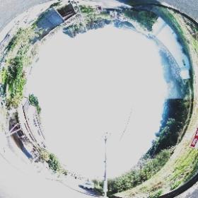 指宿市東方【売地】温泉権付別荘住宅用地約59坪100万円 #theta360
