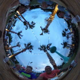 Great dinner finishing, up a great week. #gulfshores #vacation #yum #theta360