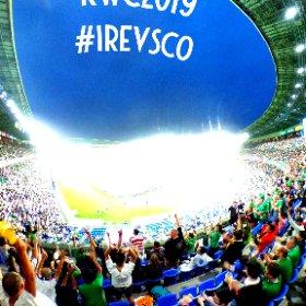 ラグビーワールドカップ アイルランド対スコットランド #RWC2019 #RWC横浜 #IREvSCO #theta360