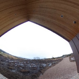 The front  view from  the Pearce centre in Rosmuc Connemara #theta360
