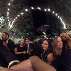 #TheOscarGoesToKelly, Kelly Oscar Wedding, Palm Springs, The Avalon Hotel,  #theta360