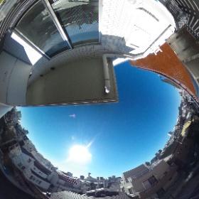 【カーサスプレンディッド小石川】 南西向き眺望 360°画像 東京都文京区小石川3-21-8 http://www.axel-home.com/009694.html  #theta360