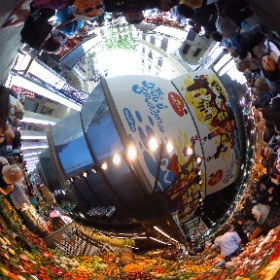 Fruit vendors #theta360
