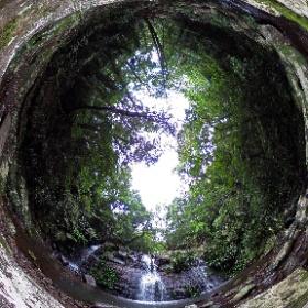 Neerigomindalala Falls in Lamington National Park