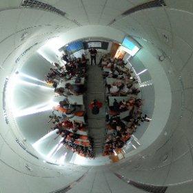Fotografia esfèrica desde el #WomenTechMakers #Lleida en la @eps_udl @wtm_lleida