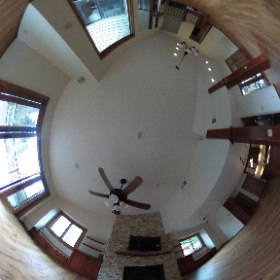 after living room remodel and renovation  #theta360