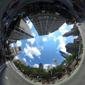 Madison Square Park/Flatiron Building #nyc #theta360