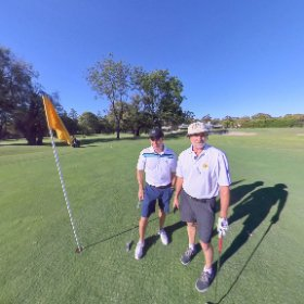 Paul Sonntag on the 13th at RPGC Royal Perth Golf Club South PertH WA   Popular for functions vlog link includes 360 virtual tour https://goo.gl/iUzmGg    also see link in vlog to New member specials #theta360