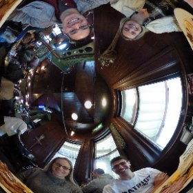 Breakfast at The Station Diner in Newton!  #theta360