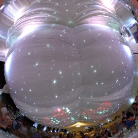 Katie and Toby celebrate their wedding day #theta360
