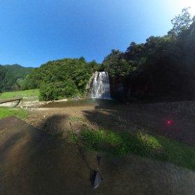 飛雪の滝 #theta360