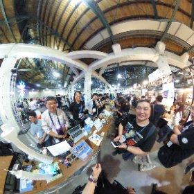 2018.11.03 Maker Faire Taipei 2018 -  Mugbot 創造者 小池星多 教授  &  Fablab 關内 門田和雄 教授     相見歡 !