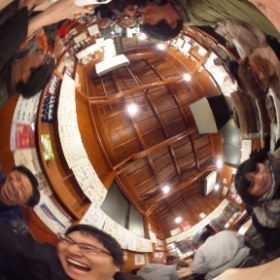 360 degree THETA photo at a Japanese pub after Stereo Club Tokyo meeting last night.
