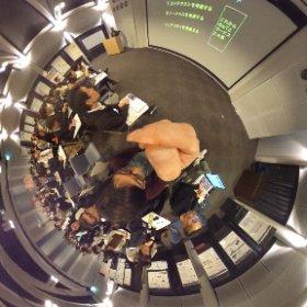 HCDサロンin京都2016.山崎先生からの講義。#hcdnet #theta360