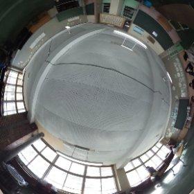 絵鞆小学校閉校式典7 音楽室です。 #theta360