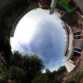 first 360 photo #theta360